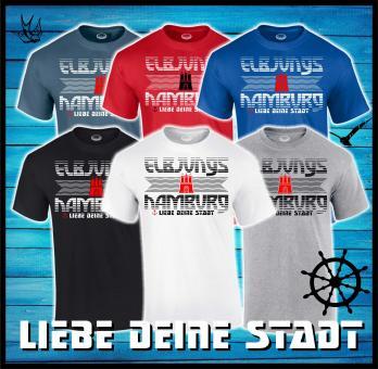 T-Shirt - Elbjungs * ♥ deine Stadt *