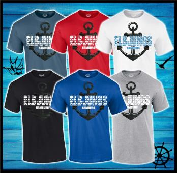 T-Shirt - Elbjungs * Anker Carbon *